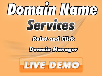 Moderately priced domain name services